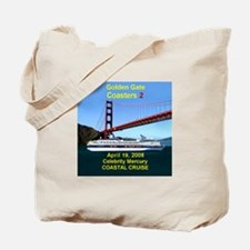 Celebrity - Mercury - Golden Gate Coaster's - Tote