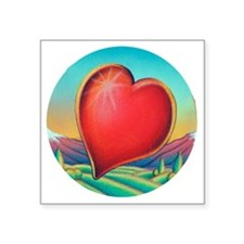 "ZSA_ValentineVallyCirc Square Sticker 3"" x 3"""