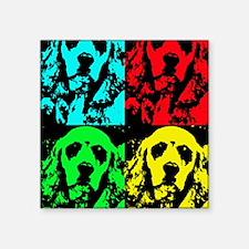 """Grady Warhol Notecard Square Sticker 3"""" x 3"""""""