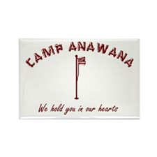 Camp Anawana Rectangle Magnet