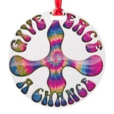 give-peace-chnc-DKT Ornament