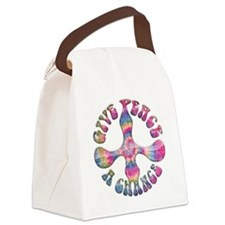 give-peace-chnc-LTT Canvas Lunch Bag