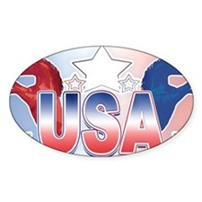usa-horses_lincenseplate Decal