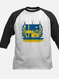 Sweden Soccer Shield3 Baseball Jersey