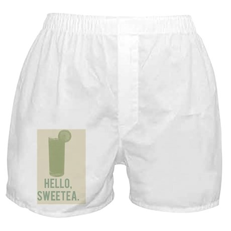 Hello, Sweetea Boxer Shorts