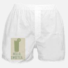 Hello, Sweetea Boxer Shorts