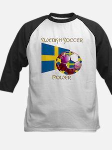 Sweden Soccer Power Baseball Jersey