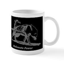 MalamutePowerBlackR10x10 Mug