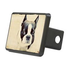 Boston Terrier Rectangular Hitch Cover