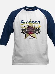 Sweden Star Soccer Kids Jersey
