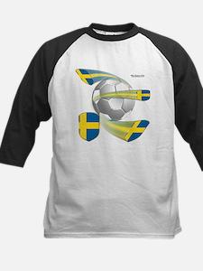 Swedish Soccer Shields Kids Jersey