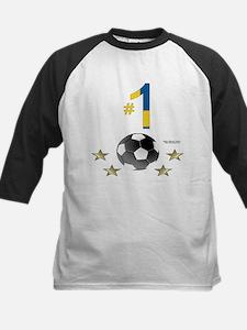 No. 1 Football Kids Baseball Jersey
