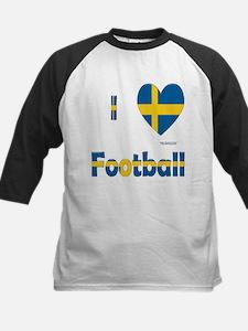 Swedish Football Kids Baseball Jersey