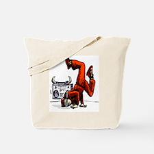 Breakdance_oldschool_iPad Tote Bag