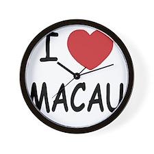 MACAU Wall Clock