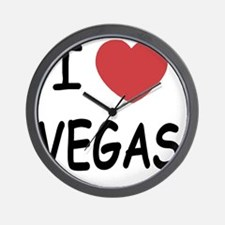 VEGAS Wall Clock