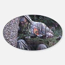 Sleepy Bowhunter Decal