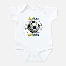 Sweden Always Scoring Infant Bodysuit