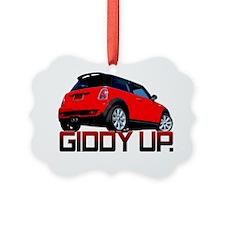 Cooper - Getty Up copy Ornament