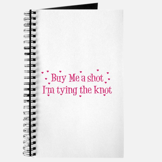 Buy Me A Shot - Hot Pink Journal
