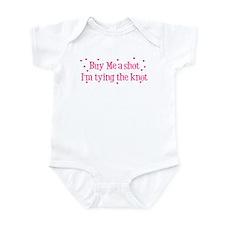 Buy Me A Shot - Hot Pink Infant Bodysuit
