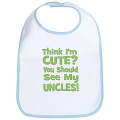 Think I'm Cute? UncleS (Plura Bib