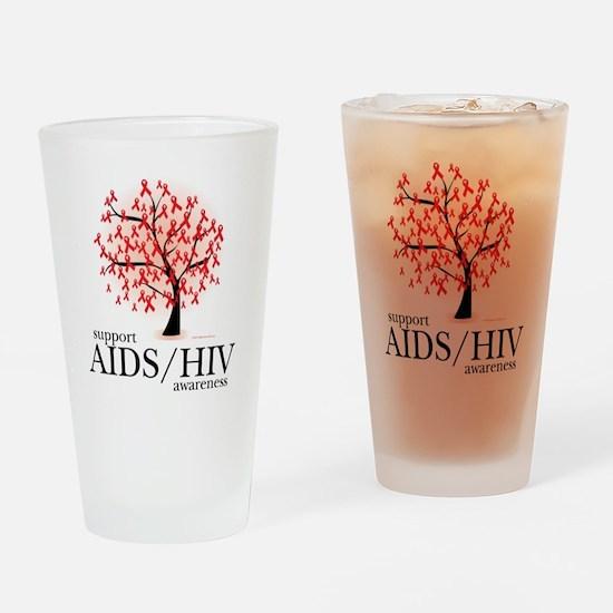 AIDSHIV-Tree Drinking Glass