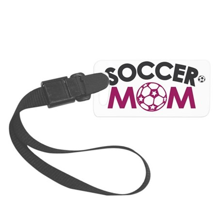 soccer mom Small Luggage Tag