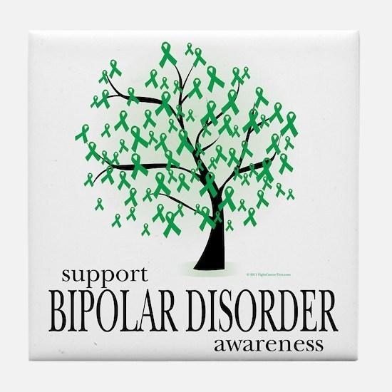 Bipolar-Disorder-Tree Tile Coaster