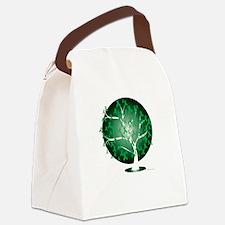 Bipolar-Disorder-Tree-blk Canvas Lunch Bag
