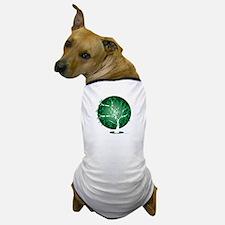 Bipolar-Disorder-Tree-blk Dog T-Shirt