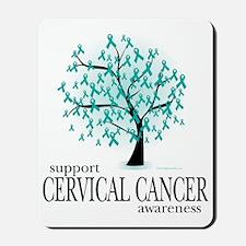 Cervical-Cancer-Tree Mousepad