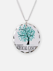 Cervical-Cancer-Tree Necklace