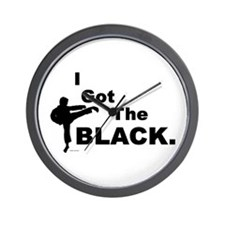 I Got The Black Wall Clock