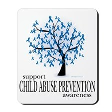 Child-Abuse-Tree Mousepad