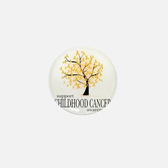 Childhood-Cancer-Tree Mini Button