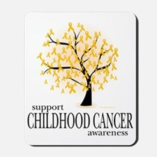 Childhood-Cancer-Tree Mousepad