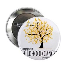 "Childhood-Cancer-Tree 2.25"" Button"