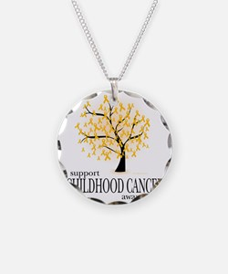 Childhood-Cancer-Tree Necklace