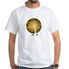 Childhood-Cancer-Tree-blk Shirt