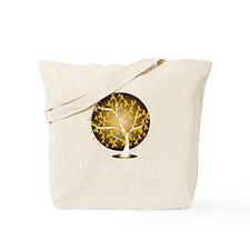 Childhood-Cancer-Tree-blk Tote Bag
