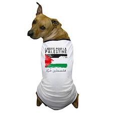 freepalestineengfren Dog T-Shirt