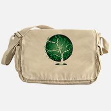 Cerebral-Palsy-Tree-blk Messenger Bag