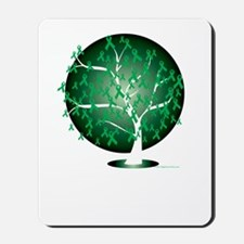 Cerebral-Palsy-Tree-blk Mousepad