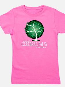 Cerebral-Palsy-Tree-blk Girl's Tee