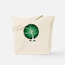 Cerebral-Palsy-Tree-blk Tote Bag