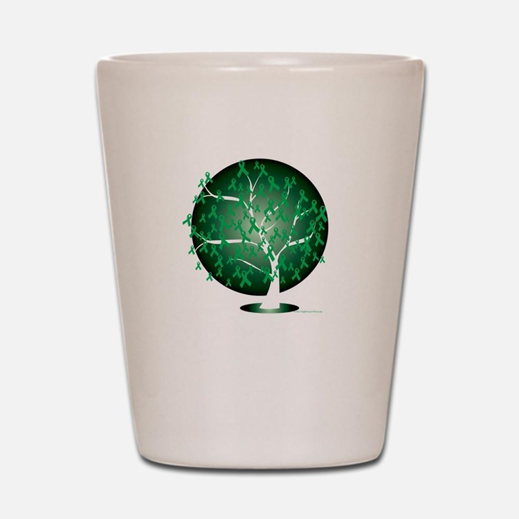 Cerebral-Palsy-Tree-blk Shot Glass