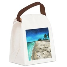 key west florida Canvas Lunch Bag