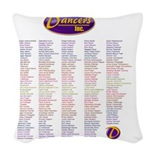 TinkerNames Woven Throw Pillow