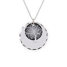 Diabetes-Tree-blk Necklace